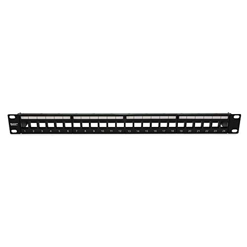 (Patch Panel; Unloaded; 24 Port; STP; Use w/RJ45 Ethernet; HDMI Audio/Video; Voice; USB)