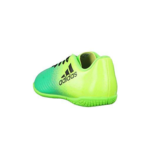 Adidas x 16.4in J–Chaussures montantes de fútbolpara enfants, vert–(Versol/negbas/verbas), -3
