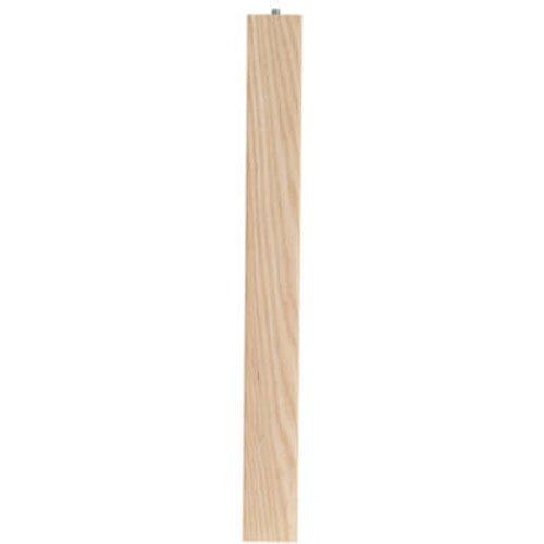 "Waddell 2665 Ash Parsons Table Leg, 15-1/4"""