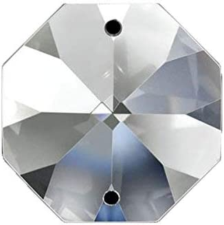 LT.SHAPPHIRE octagon CRYSTAL CHAIN CHANDELIER WEDDING CRYSTAL LAMP BEAD CHAIN