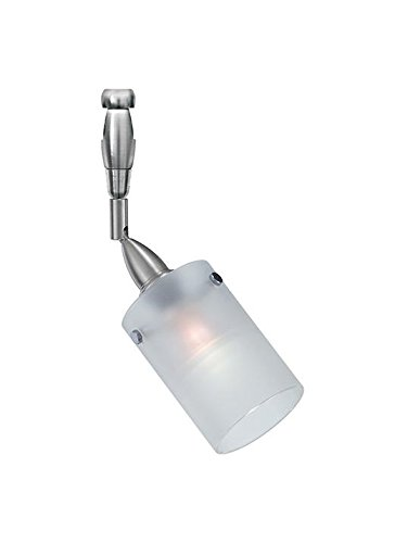 Merlino Head (LBL Lighting HA300FRSC061A50MPT Merlino Swvl II FR SN 6IN MPT Satin Nickel Frost Halogen)