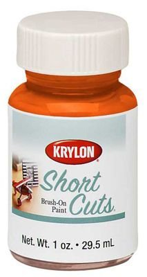 Krylon KSCB022 Short Cuts Brush-On Paint, 1-Ounce, Glow -