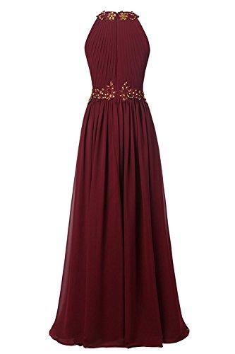 JYDress - Robe - Trapèze - Femme -  rouge - 40