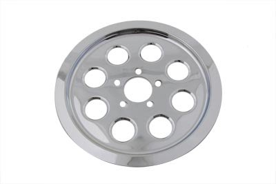 - Chrome 70 Tooth Outer Pulley Cover for 2000-2005 Dyna