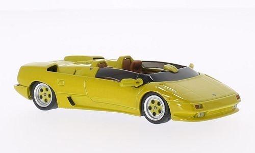 Lamborghini Diablo Roadster prototype, dark yellow, 1992, Model Car, Ready-made, WhiteBox -