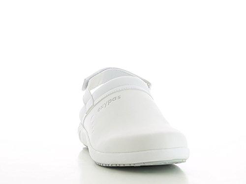 De Oxypas Para Blanco Protección Calzado Mujer FBYqR
