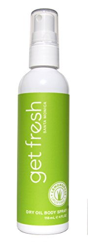 Get Fresh - Dry Oil Body Spray 4oz Lemongrass