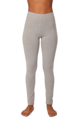 Cotton Spandex Leggings (Heather Grey- X-large)