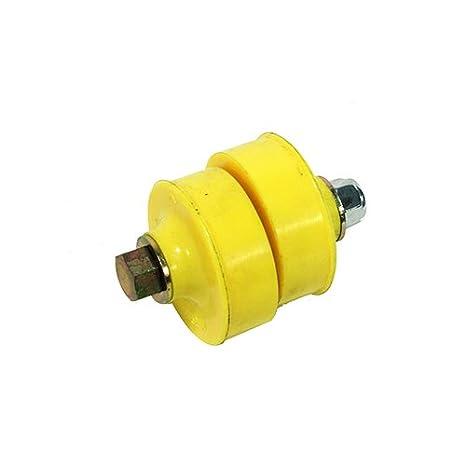 MTC VU450 9434263U Urethane Engine Torque Rod Mount Bushing Yellow Softer Version, Volvo models