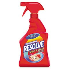 Reckitt & Colman Professional Resolve Spot & Stain Carpet Cleaner, 32 Oz.