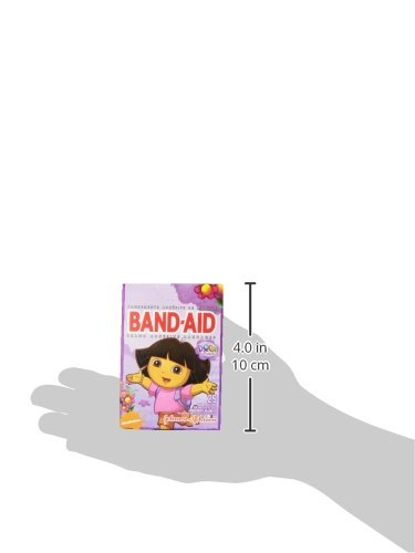 Band-Aid Brand Adhesive Bandages, Dora the Explorer Decorated Bandages, 25 Count (Pack of 3)
