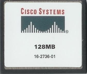 Cisco Approved MEM1800-64U128CF - 128mb Flash Memory for Cisco 1800 Series (Cisco Adsl Modem Router)