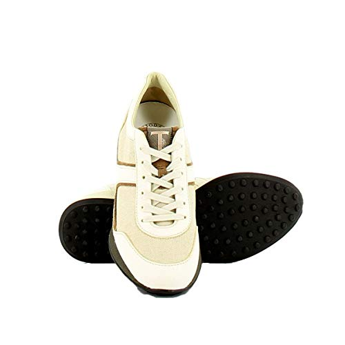 Xsw0na0d480ea5163r Beige Sneakers Tod's bianco Donna Pelle nBfT0q