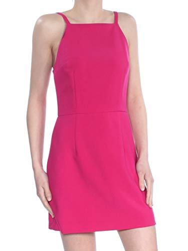 French Connection Women's Whisper Light Sleeveless Strappy Stretch Mini Dress, Mimosa, 2 (French Viscose)