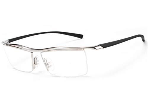 al Azul Anti de Libre Silver Gafas Azul de miopía de Espejo Plano Negro Moda luz Gafas Aire Sol XIYANG con nZf4Oqw