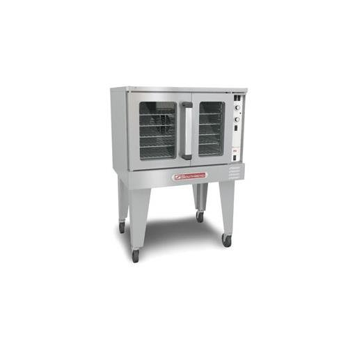 (Southbend SLGS/12SC SilverStar Double Deck Gas Convection Oven)