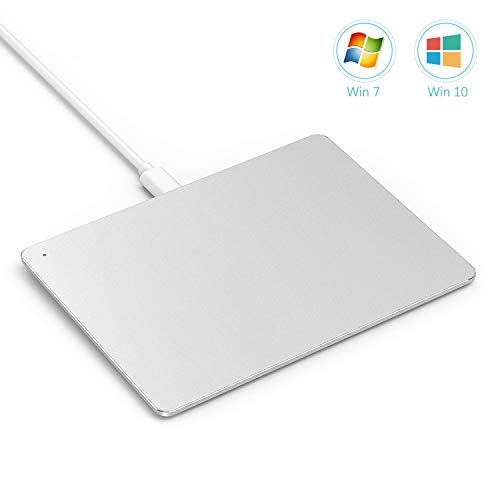 USB Touchpad Trackpad, Jelly Comb Ultra Slim Portable Aluminum USB Wired  Touchpad with Multi-Touch Navigation for Windows 7/10 PC Laptop Notebook