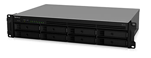 Synology 2U 8-Bay NAS RackStation (Diskless) (RS1219+) (Best 8 Bay Nas)