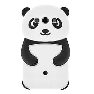 CeeMart Panda Pattern Silicone Soft Case for Samsung Galaxy S3 I9300 - Purple