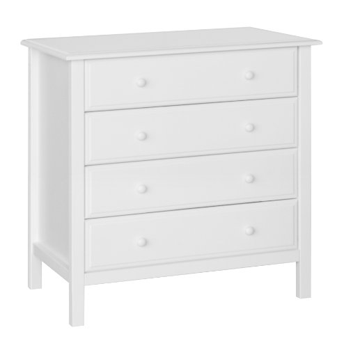 DaVinci 4-Drawer Dresser , White by DaVinci