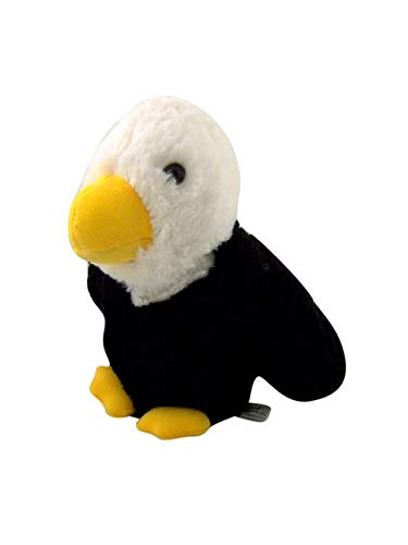 Canned Critters Stuffed Animal: Bald Eagle 6