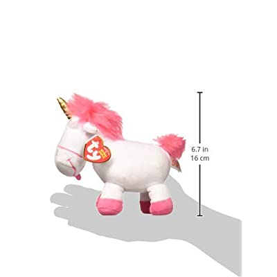 Ty Fluffy - Unicorn reg: Toys & Games