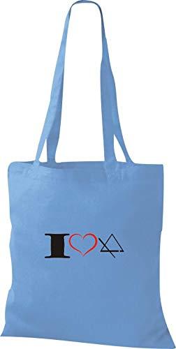 Mujer Bolso Shirtstown Para De Azul Tela Claro Algodón qnzwCR6