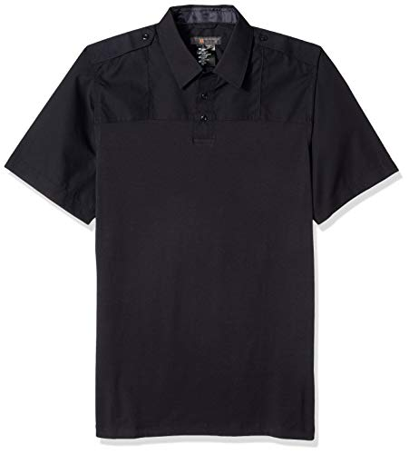 (5.11 Tactical Men's Taclite Short Sleeve Polo Shirt, Moisture Wicking Polyester, Style 71046)