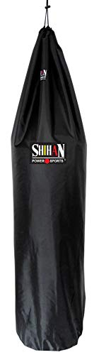 Shihan Power Sports Boxing Bag Cover Waterproof 5-6ft x 24inch Diameter Large Bag Punch Bag Outdoor Protection for Your…