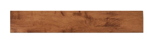 Grandview 40125  6-Inch by 36-Inch Dryback Vinyl Planking Wood Grain Flooring, Burnt Ash Finish