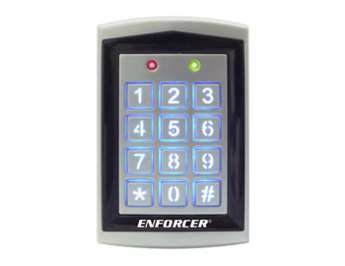 Single Gang Backlit Keypad - SK-1323-SPQ Seco-Larm Sealed Housing Weatherproof Digital Access Keypad w/Built-in Proximity Reader