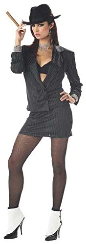 Mafia Costumes For Women (Women's Sexy Mafia Princess Costume)