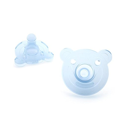 Philips Avent Soothie Pacifier Bear Shape 2-Pack Green//Blue 0-3 months SCF194//01