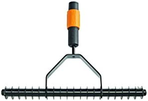 Fiskars Rastrillo aireador, Largo: 37 cm, Negro/Naranja, 1000655 ...