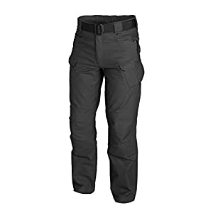 Helikon-Tex UTP Urban Tactical Pants Ripstop Black, Military Ripstop Cargo Style, Men's Waist 40 Length 32