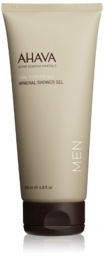 AHAVA Men's Mineral Shower Gel, 6.8 fl oz
