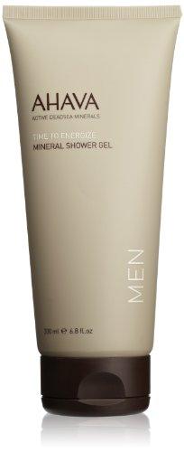 AHAVA Men's Mineral Shower Gel, 6.8 fl - Cleansing Men Gel Body