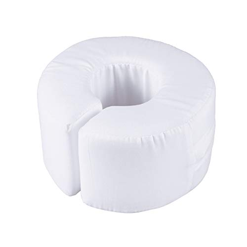 SUPVOX Foot Hand Leg Foam Elevator Cushion Donut Shape Ankle Elevation Pillows Pads (White)