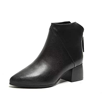Amazon.com | HOESCZS Boots Martin Boots Autumn and Winter