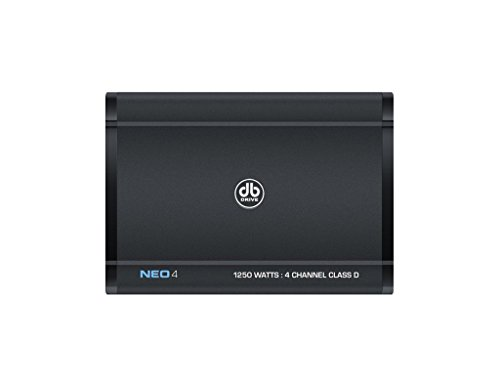 db Drive NEO4 Class D 4 Channel Amplifier 1250W Newport Drive