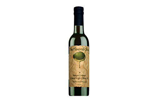 Meyer Lemon Flavored / Infused Gourmet Olive Oil, Cold Pressed - Fish Lemon Olive Oil