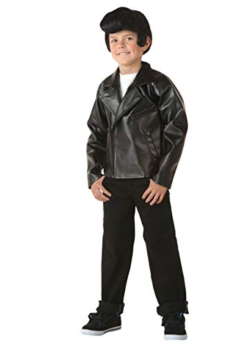 Kid's Grease T-Birds Jacket Costume Danny Costume Jacket Small (6)]()
