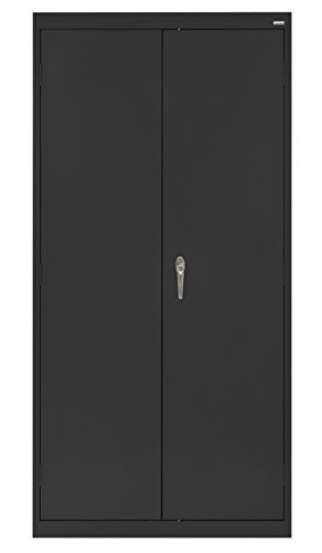 Buddy Products Cabinet, Welded Storage Cabinet, Black (CA41361872-09BP) ()