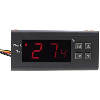 12V//24V//110V//220V Digital Air Humidity Control Controller WH8040 Range 1/%~99/% /&Y