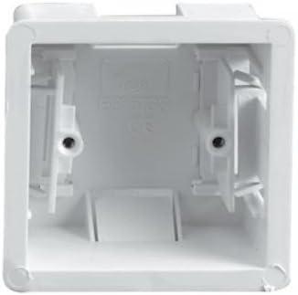 Pattress Depth 47mm 4 × Extra Deep Dry Lining Back Box 1-Gang