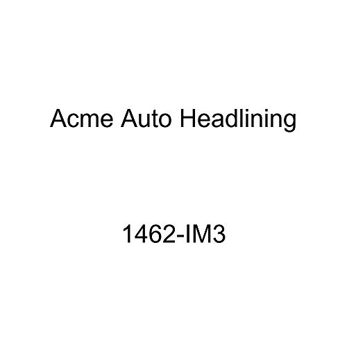 Acme Auto Headlining 1462-IM3 Grey Replacement Headliner (1956 Bel Air, Nomad, Chieftain, Star Chief 4 Dr Wagon 6 Chrome Bows)
