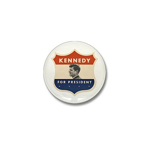 CafePress - JFK '60 Shield Mini Button - - Vote Button