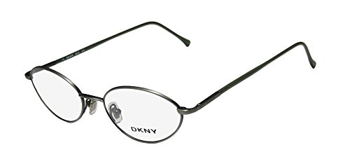 DKNY 6218 Mens/Womens Prescription Ready Casual Designer Full-rim Eyeglasses/Eyeglass Frame (46-18-135, Light - Goggles Dkny