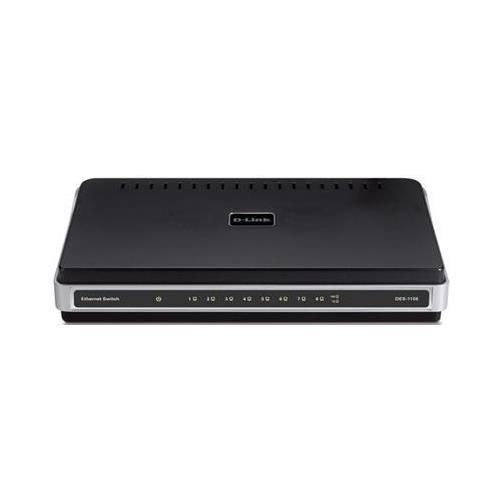 D-LINK DGS-1100-08P EasySmart 8-Port Gigabit PoE Switch 8 Ports - Manageable - 8 x POE - 10/100/1000Base-T - PoE Ports - Desktop
