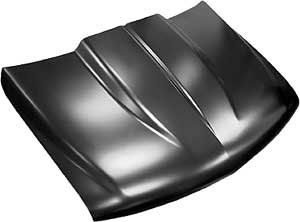 (Key Parts 0856-035 Steel Cowl Induction Hood 1999-2002 Chevy Silverado)